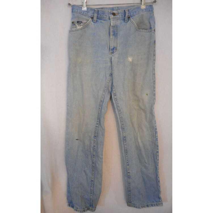 Lee Vintage Lee Jeans flat front denim jeans 1980… - image 1