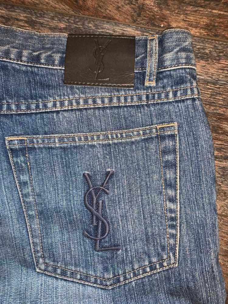 Yves Saint Laurent Yves Saint Laurent Jeans vinta… - image 4
