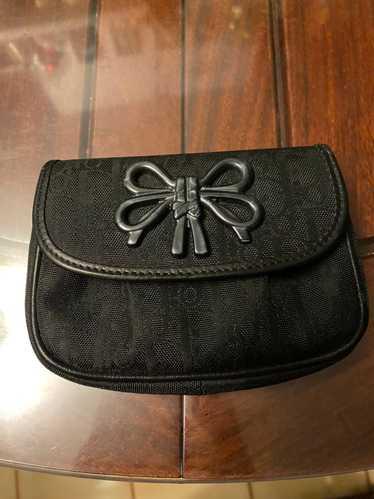 Dior × Vintage Dior pouch