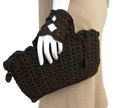 1930s-40s Crochet Hand Bag