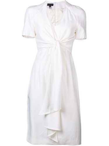Jean Louis Scherrer Pre-Owned knot detail dress -