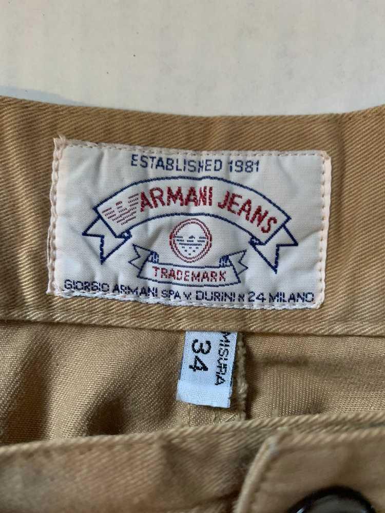 Armani Armani khaki Chino pants - image 3