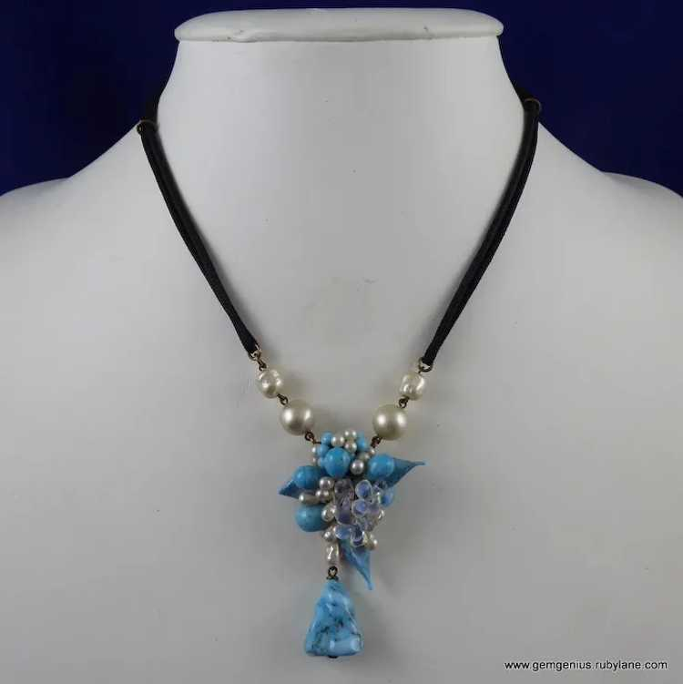 Rousselet Necklace and Earring Set - image 2