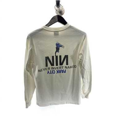Vintage NIN Never Invert Naked Snowboarding S T-s… - image 1