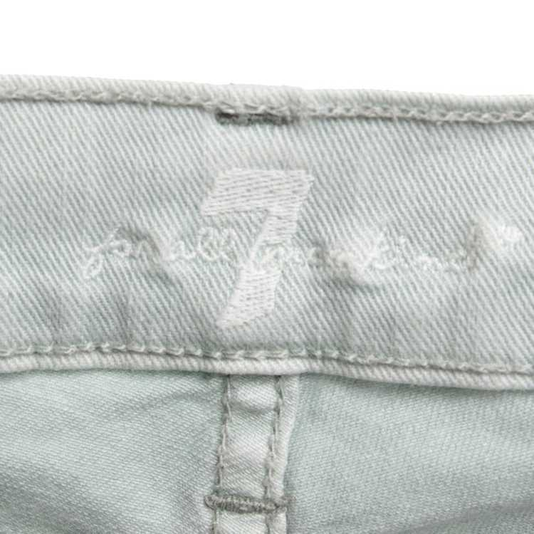 7 For All Mankind Jeans in mint green - image 4