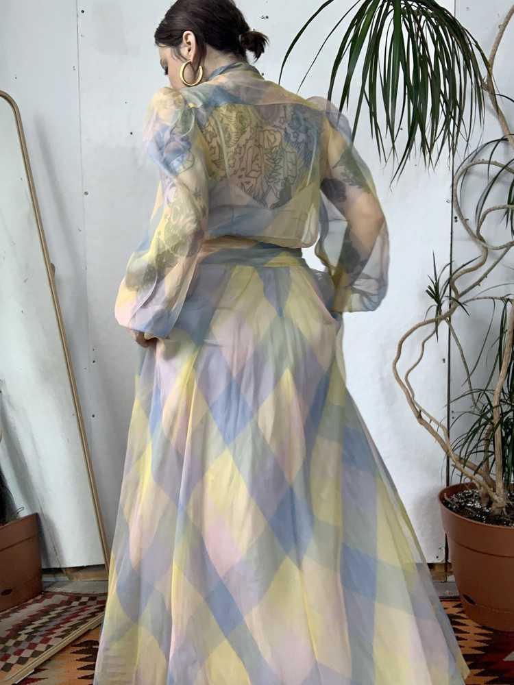 RARE 1940s Ceil Chapman Gown - image 9
