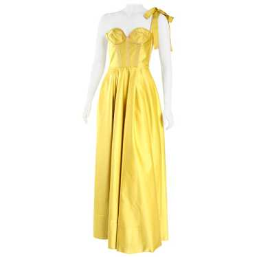 Rochas Yellow Gold Gown