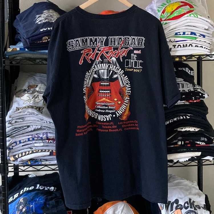 Band Tees × Rock T Shirt × Rock Tees The Red Rock… - image 4