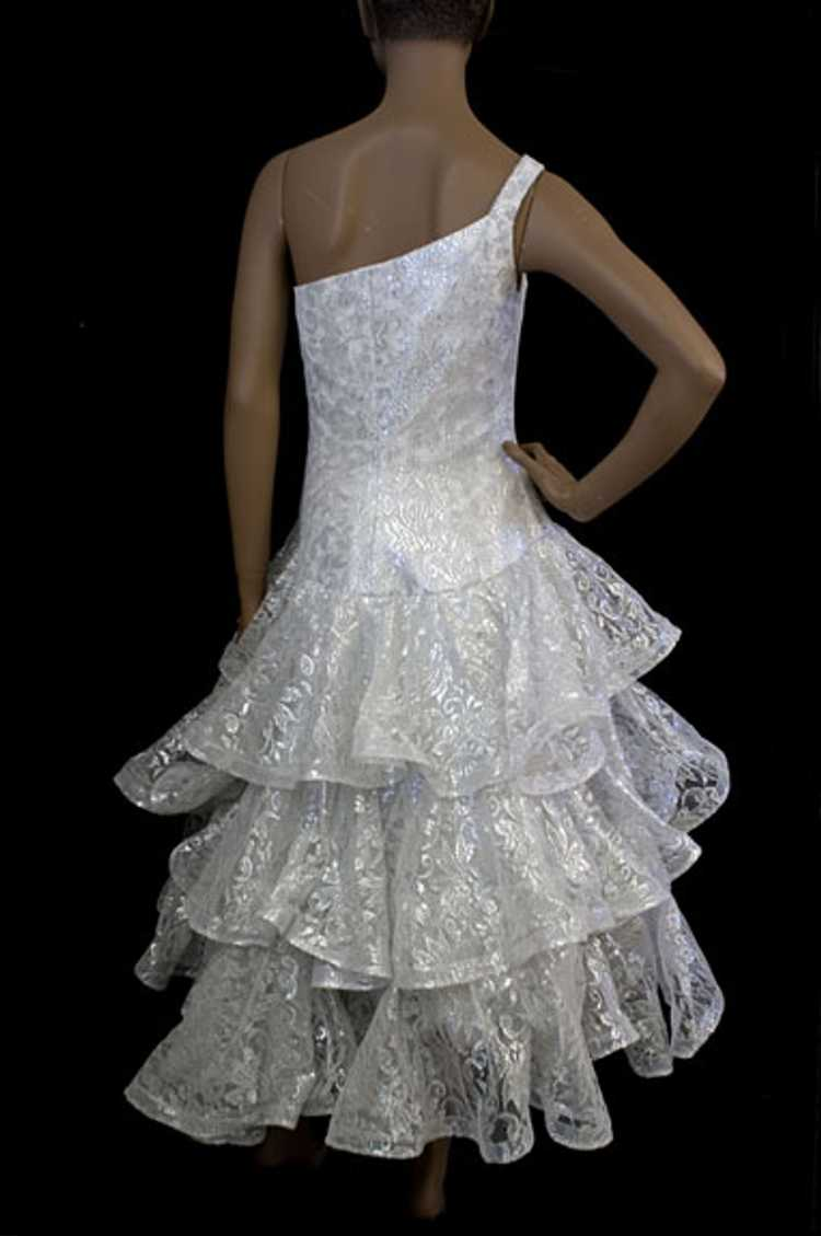 Scaasi Boutique evening dress, late 1980s - image 2
