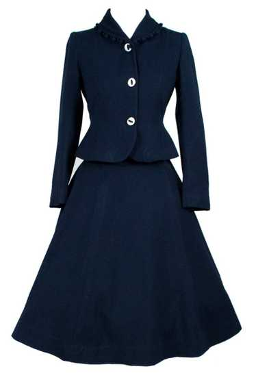 Rare 1940s children's teen 2 pc skirt suit Body by