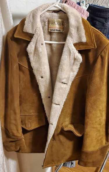 Schott Schott NYC Shearling Coat