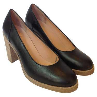 Swedish Hasbeens Black leather pumps Swedish Hasbe