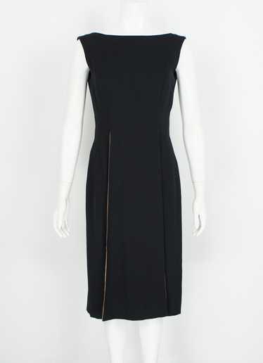 1960s Black Dress