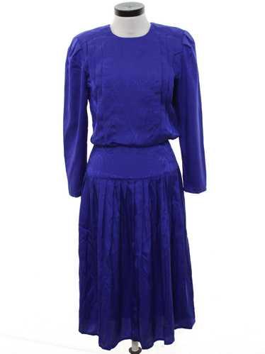 1980's Nilani Totally 80s Secretary Dress