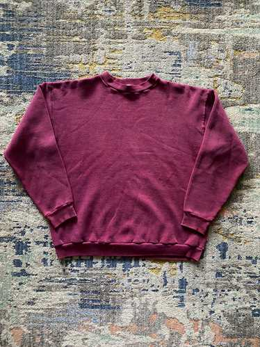 Russell Athletic × Vintage 1970's maroon Russell a