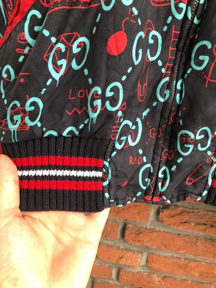 Gucci Gucci Ghost Silk Bomber - image 6