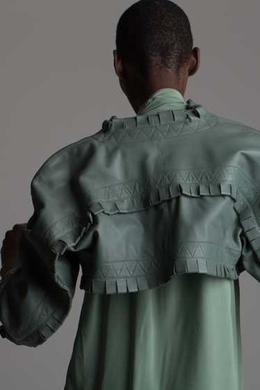 Vintage Alaia Leather Bolero