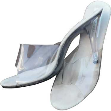 Lucite Heels Frederick's of Hollywood