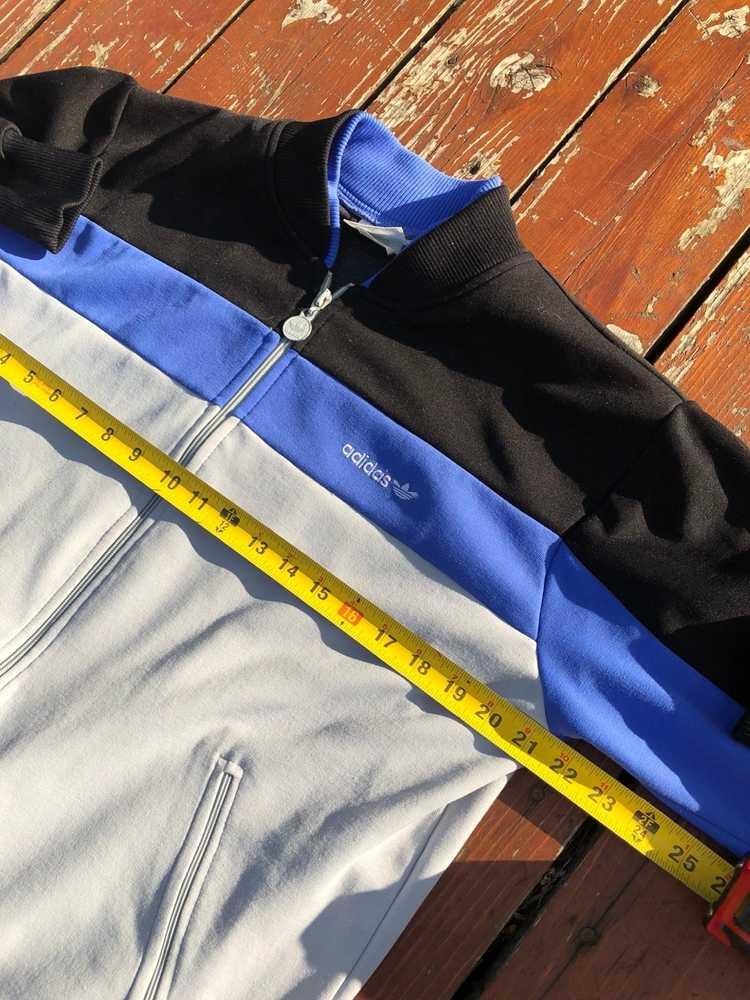 Vintage Vintage 70s Adidas Track Jacket Large - image 5