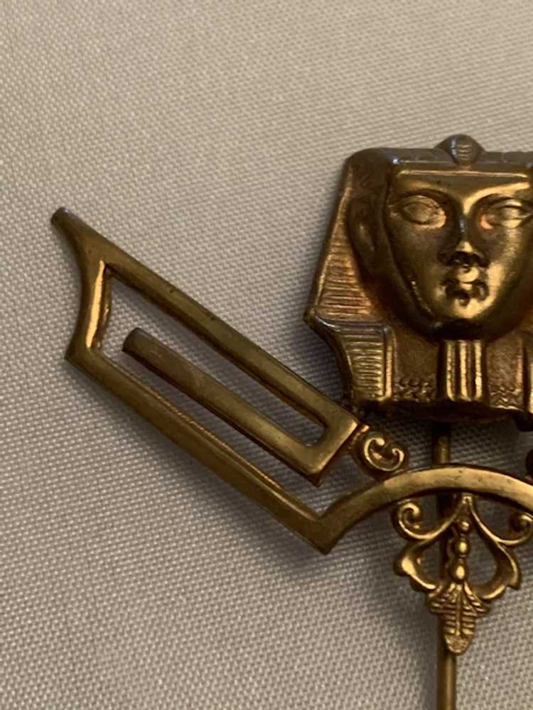 Egyptian Revival Hat Pin - image 2