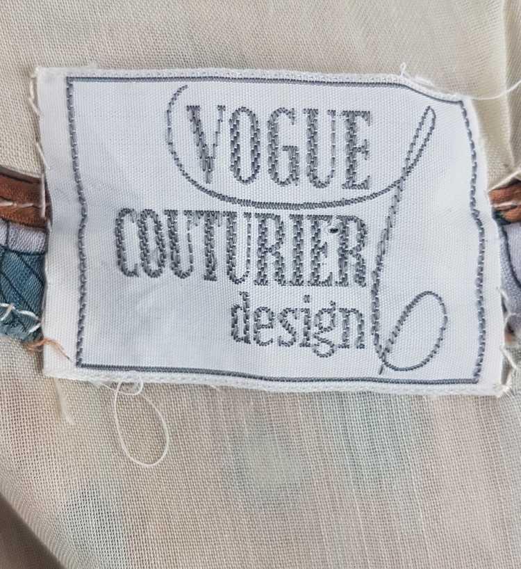 Vintage Vogue Couturier Design Circular Cape/Batw… - image 9