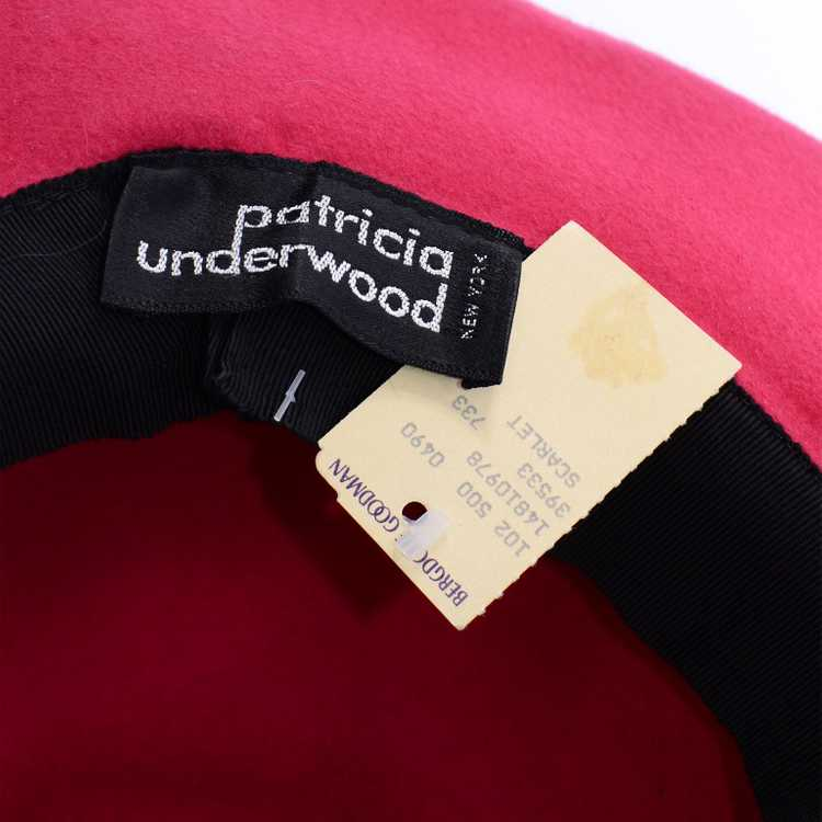 Patricia Underwood Vintage Red Felted Wool Deadst… - image 10