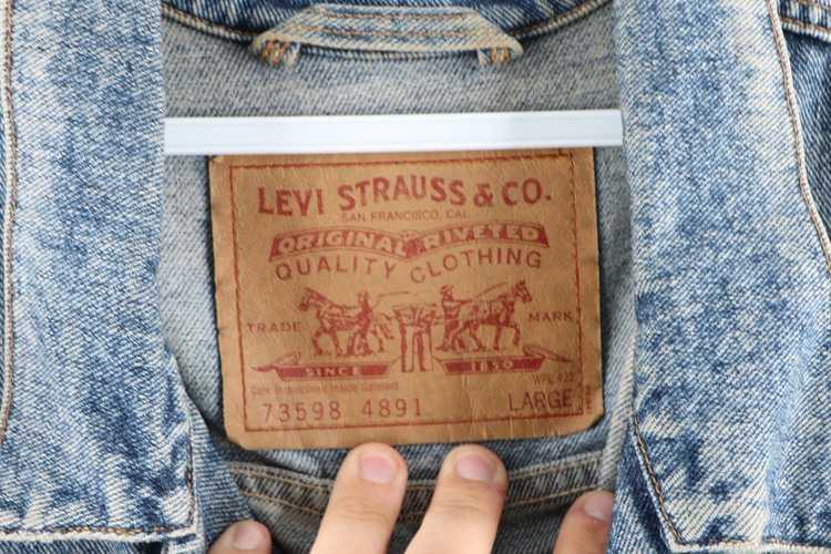 Levi's × Vintage Vintage 90s Levis Levi Strauss D… - image 4