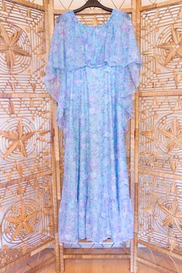 Floral Cape Dress