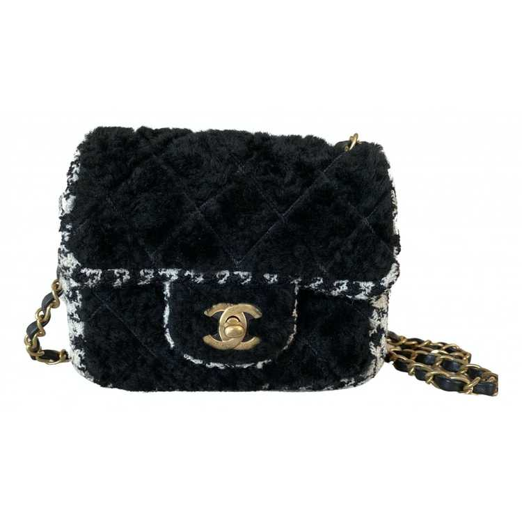 Chanel Timeless/Classique tweed mini bag - image 1