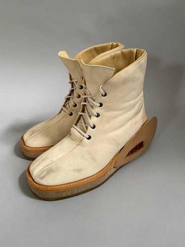 20471120 Vintage, 20471120 fur leather boots