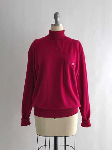 Vintage 80s Wool Turtleneck Sweater