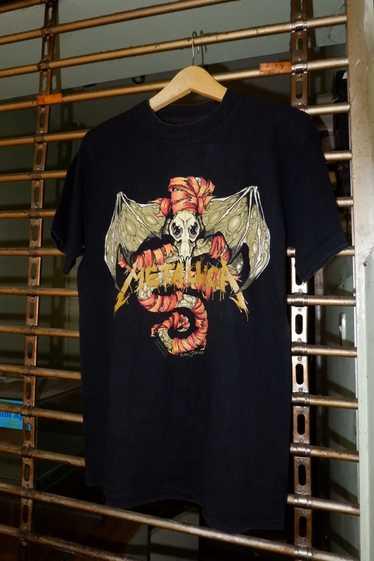 Band Tees × Brockum × Rock T Shirt metallica pushe