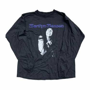 Vintage Marilyn Manson Long Sleeve T-shirt - image 1