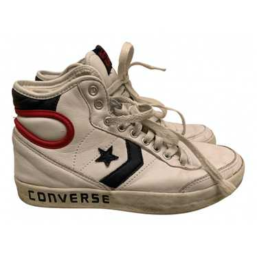 Converse White Rubber Trainers for Women 37.5 EU