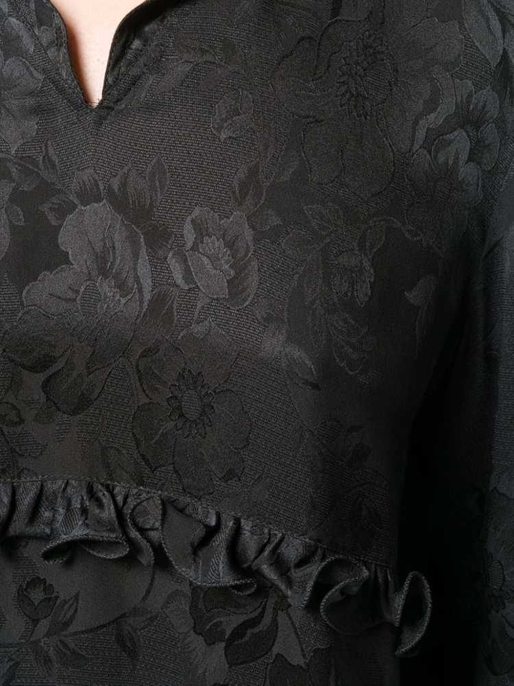 Valentino Pre-Owned 1980's rose print blouse - Bl… - image 5