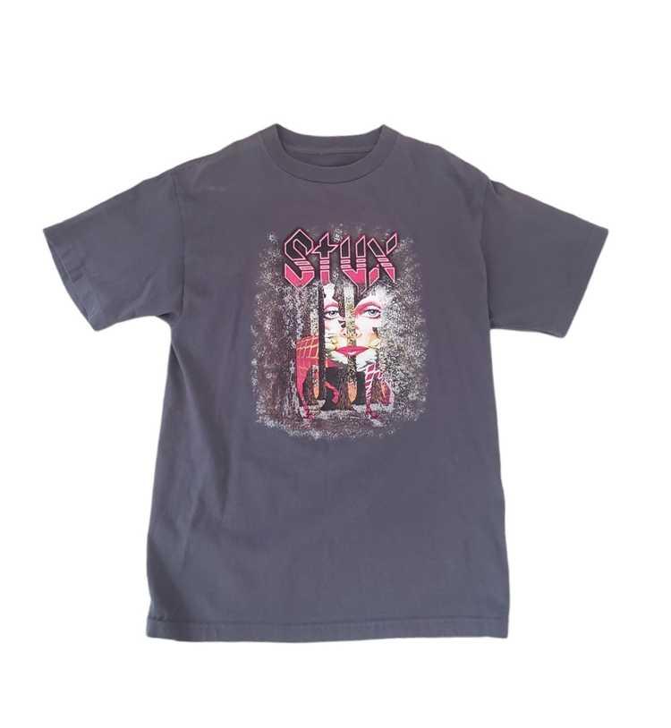 Band Tees × Rock T Shirt × Rock Tees VTG Styx Ban… - image 6
