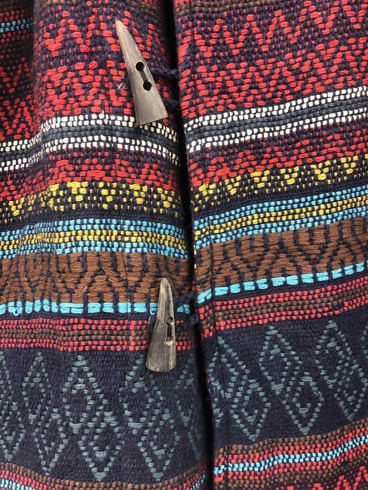 Mexicana × Navajo × Vintage Vintage Navajo Chimay… - image 5