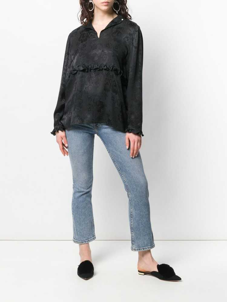 Valentino Pre-Owned 1980's rose print blouse - Bl… - image 2