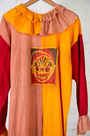 Early Vintage 1920's - 30's Flapper Clown Costume
