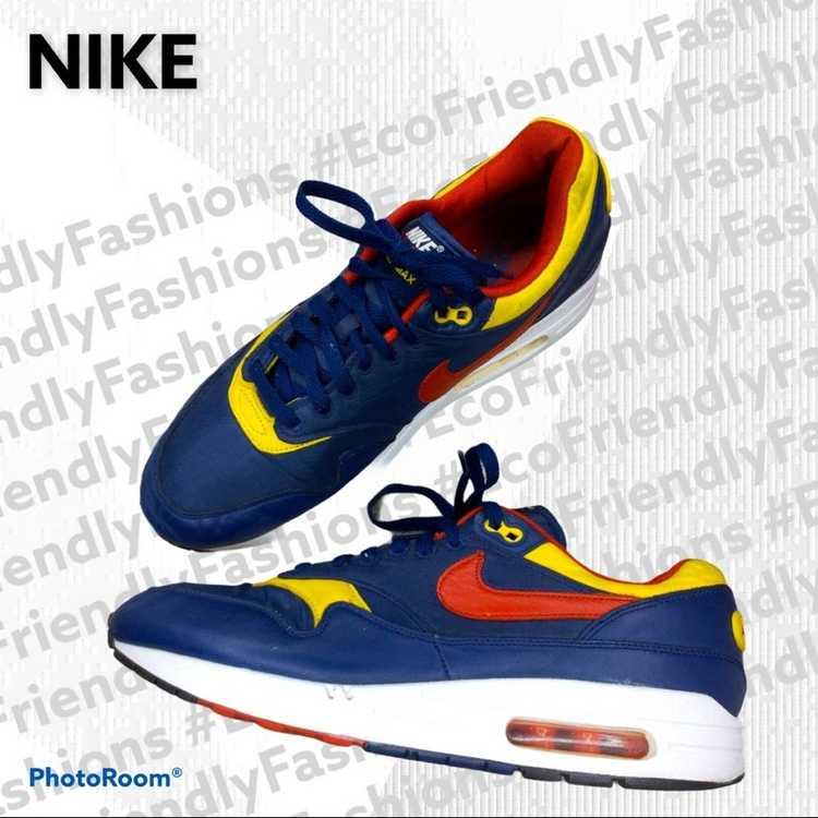 """Nike Nike Men's Blue Air Max 1 """"snow Beach"""" Polo … - image 2"""