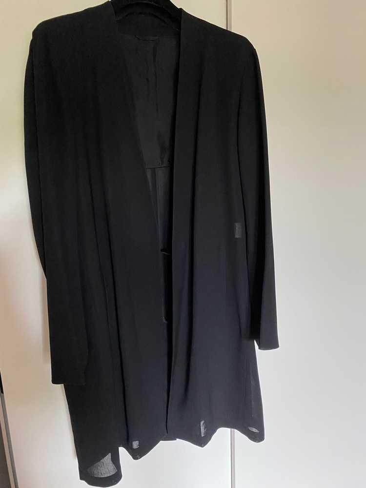 Raf Simons Raf Simons black summer coat - image 1