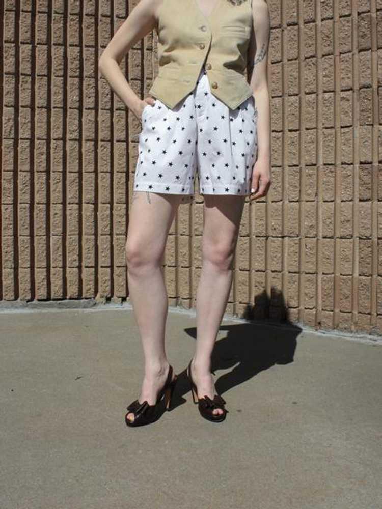 Novelty Print Cotton Shorts - image 3
