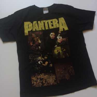 vintage 90s Pantera White Zombie 1996 War of Gargantuas vtg rare weed leaf concert tour band shirt size XL
