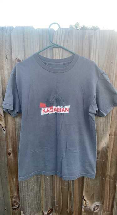 Rock Band × Rock Tees × Vintage Vintage Kasabian r