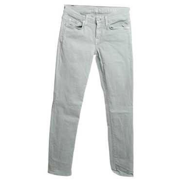 7 For All Mankind Jeans in mint green