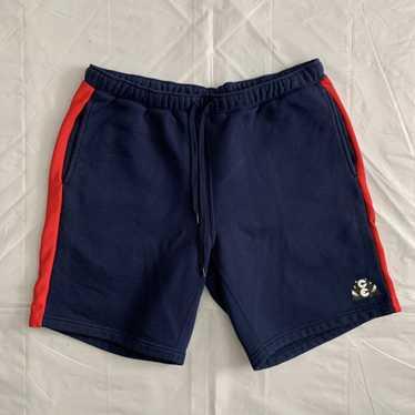 2010s Cav Empt Navy Cotton Sweatshorts with Ribbed