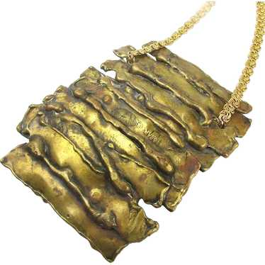 Mega Brutalist Buckle Necklace
