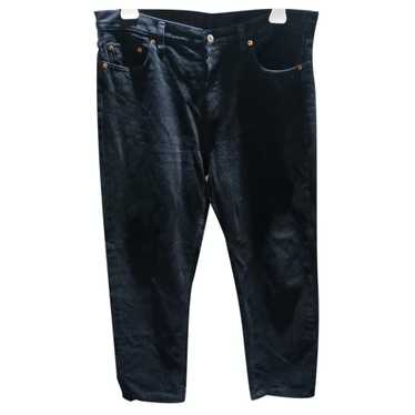 Levi's 501 Black Cotton Jeans for Men 32 US