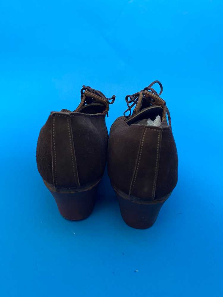 Deadstock 1940s shoes, french - image 4