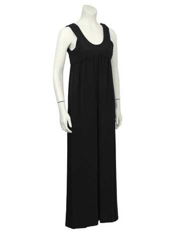 Black Simple Gown